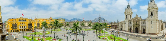 Lima, Plaza Mayor